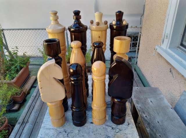 Garten-Schach-Set